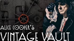 Alice Cooper will launch his new podcast, Alice Cooper's Vintage Vault March 24th