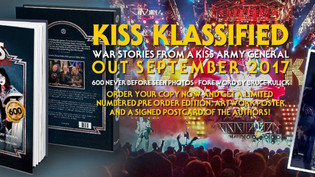 New KISS book called 'KISS Klassified' to be released on September 29th