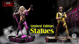 KnuckleBonz issue Twisted Sister Limited Edition Statues