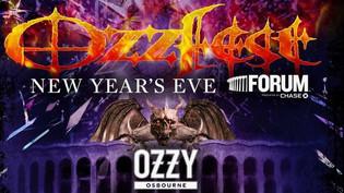 OZZY OSBOURNE to headline Ozzfest New Year's Eve in L.A. : Rob Zombie, Marilyn Manson, Jonathan