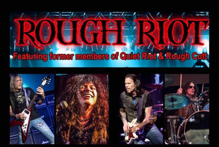 Greg D'Angelo Formerly of White Lion Joins Carlos Cavazo's ROUGH RIOT