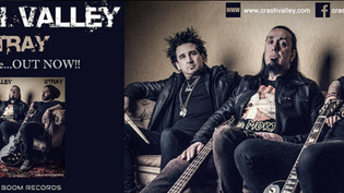 """CRASH VALLEY Release new single """"Stray"""""""