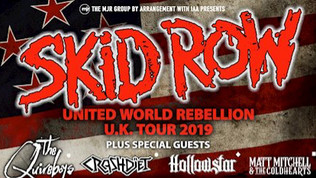 SKID ROW to tour the UK with Quireboys, Crashdiet and more
