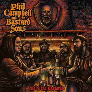 """PHIL CAMPBELL AND THE BASTARD SONS to release """"We're the Bastards"""" November 13th, 2020"""