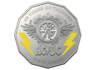 Australian Government Celebrates AC/DC's 45th Anniversary With New Collection Of Coins