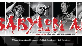 "Babylon A.D. Announces Marc ""SPYDER"" Webb As The Band's New Guitarist"