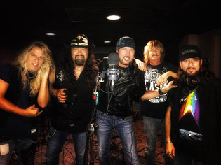 THE RON KEEL BAND Complete Recording Sessions For New Album 'Fight Like A Band'
