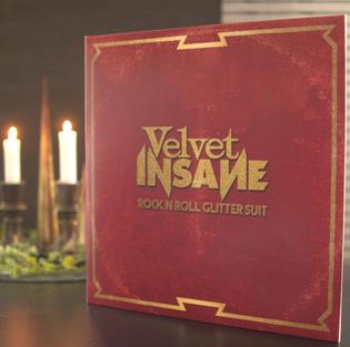 Swedish glam rockers Velvet Insane releases their new album Rock 'n' Roll Glitter Suit