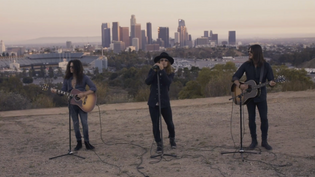 "Dirty Honey perform an acoustic version of their song ""Down The Road"""