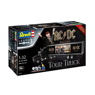 AC/DC is selling a model kit of the tour truck design from their 'Rock Or Bust' album