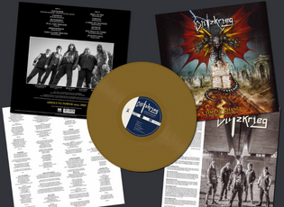 BLITZKRIEG Releases 'A Time of Changes' 30th Anniversary Edition LP