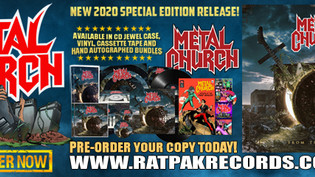 """Metal Church To Release """"From the Vault"""""""