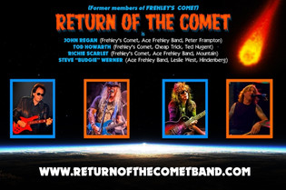 Former FREHLEY'S COMET Members Rejoin Forces In RETURN OF THE COMET