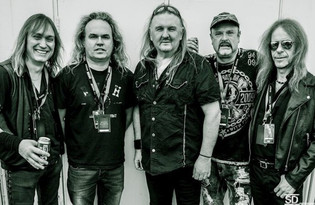 BURN OUT WRECK featuring ex-HEAVY PETTIN drummer on vocals release lryic video for FLAMES