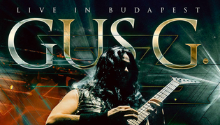 """FormerOzzy guitarist GUS G. is set to release """"Live in Budapest"""" EP onSeptember 20th."""