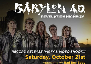 Babylon A.D. Record release and Video Shoot set for October 21st at Empress Theatre