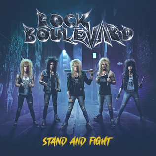 "Metallic Blue Records releases Rock Boulevard ""Stand and Fight"""