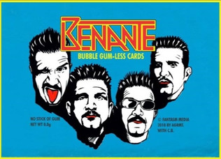 ANTHRAX drummer CHARLIE BENANTE Cards: Available From FANTASM MEDIA