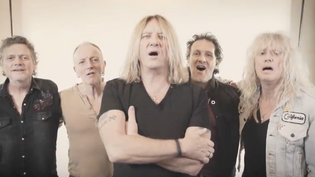 DEF LEPPARD Release Video 'We All Need Christmas'