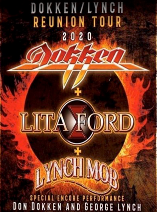 DOKKEN, LYNCH MOB And LITA FORD To Team Up For 2020 U.S. Tour