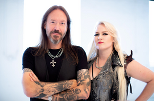 """HAMMERFALL Releases Official Video For New Single """"Second to One"""", Featuring Noora Louhimo Of BATTLE"""