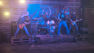 """HYSTERIA release the new video """"Rock Police"""""""