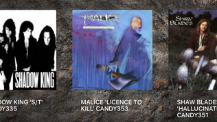 Rock Candy re-issue five albums from ( D'Molls, Malice, Shadow King, Riot and Shaw & Blades)