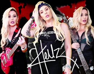 "Hellz release new video ""We Want Rock"""