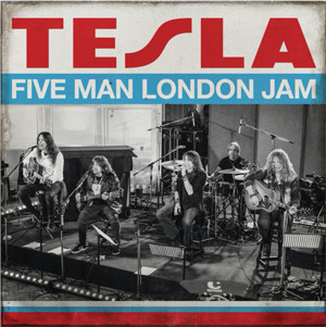 """TESLA Release Official Live Video """"Signs"""" From Upcoming 'Five Man London Jam"""" Alb"""