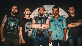 "Brazilian band HEAVY SMASHER unveils music video for the song ""Sunrise Rebel"""