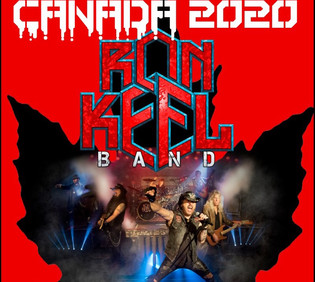 RON KEEL BAND announce Canada tour dates in 2020