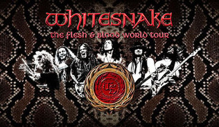"""Whitesnake announce first shows of the 2019""""FLESH & BLOOD""""World Tour"""