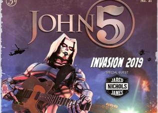 JOHN 5 AND THE CREATURES Announce New Album Details / 2019 Tour Dates