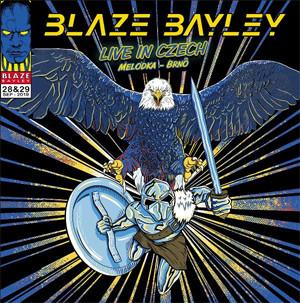 """BLAZE BAYLEY Reveals New Album """"Live In Czech"""""""
