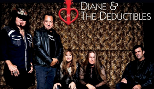 """Diane & The Deductibles - New Studio Album titled """"TWO"""" feat. Robert Sarzo of Hurrican"""
