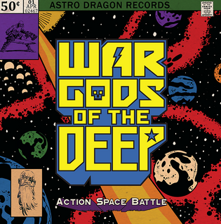 """WAR GODS of the DEEP are set to release their debut album, """"Action Space Battle"""""""