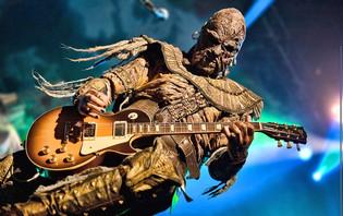 LORDI Guitarist AMEN-RA Releases Lyric Video 'Stone And Stars'
