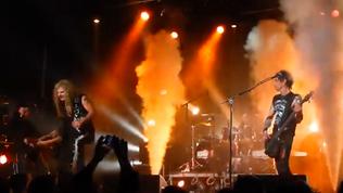 HEAVENS EDGE Live Club Trocadero, Philadelphia March 24, 2018 ( Video )