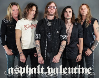 ASPHALT VALENTINE Announces New Guitarist