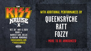 Kiss Kruise X to feat. performances by QUEENSRYCH, RATT, FOZZY and more