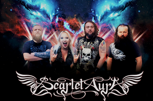 """Scarlet Aura premiers new video """"HIGH IN THE SKY"""