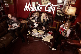 Midnite City featuring Rob Wylde of Tigertailz set to release debut album October 27th
