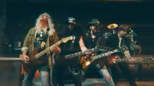 EMP Premiere 'FIGHT LIKE A BAND'  from the legendaryRon Keel Band