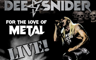 "DEE SNIDER Reveals Music Video for Live Version of ""For The Love Of Metal"""