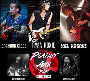 The Planet Axe Tour feat. Ryan Roxie and Brandon Gibbs to Kick-off this April