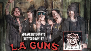 L.A. GUNS feat. Phil Lewis and Tracii Guns release new single 'Let You Down'
