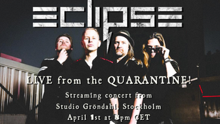 """ECLIPSE Announces """"Live From The Quarantine"""" Streaming Concert For April 1st!"""