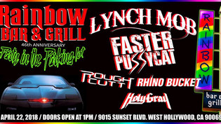 Rainbow Bar & Grill 46th anniversary Party in the Parking lot ( Faster Pussycat Lynch Mob Rough