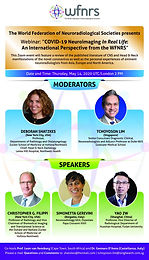"""Webinar: """"Neuroimaging in COVID-19 In Real Life: An International Perspective from the WFNRS"""""""