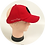 Thumbnail: Red LOC/Backless Base Hat